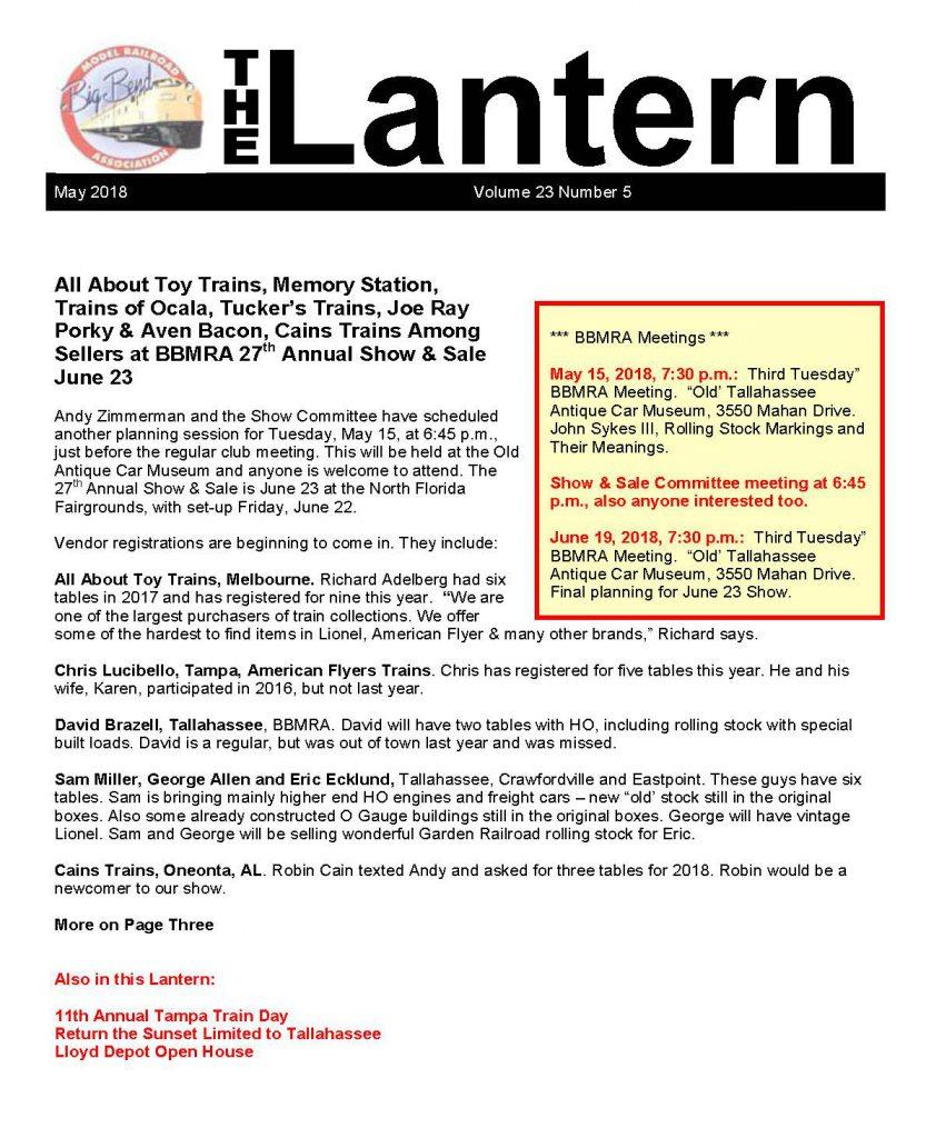 Image of the Lantern Newsletter